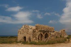 Ruinen der alten byzantinischen Stadt von Afendrika Stockfoto