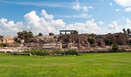 Ruinen der alten Festung. Stockfoto