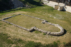 Ruinen der alten Kirche Lizenzfreie Stockbilder