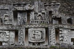 Ruinen der alten Mayastadt Xunantunich lizenzfreie stockbilder