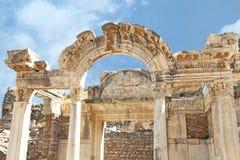Ruinen der alten römischen Stadt, die Türkei Stockfotografie