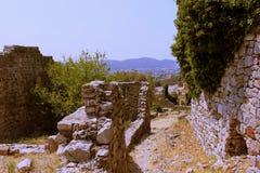 Ruinen der alten Stadt Lizenzfreie Stockfotografie