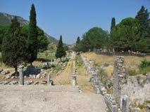 Ruinen der alten Stadt Ephes Lizenzfreies Stockbild