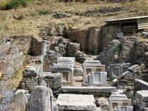 Ruinen der alten Stadt Ephes Lizenzfreie Stockfotos