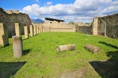 Ruinen der alten Stadt Pompeji Stockbilder