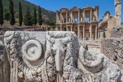 Ruinen der alten Stadt von Ephesus Stockbild