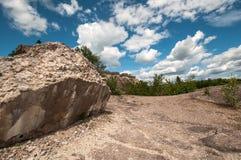Ruinen der alten Verdammung Stockbild