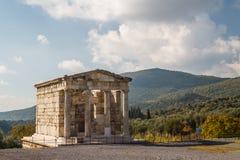 Ruinen der altgriechischen Stadt von Messinia u. von x28; Messini, Messenia& x29; Lizenzfreie Stockfotos