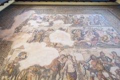 Ruinen der altgriechischen und römischen Stadt von Paphos Berühmt, stockbilder