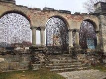 Ruinen der armenischen Kirche Lizenzfreies Stockfoto