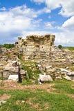 Ruinen der Ephesus Kirche von Mary Stockbild