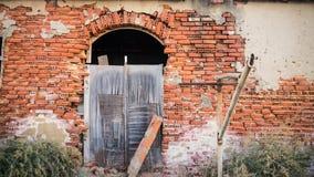 Ruinen der Gezeiten Mühle von Barreiro Lizenzfreie Stockbilder