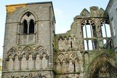 Ruinen der Holyrood-Abtei Lizenzfreies Stockbild