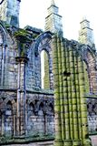 Ruinen der Holyrood-Abtei Lizenzfreie Stockbilder