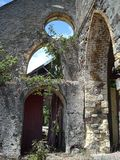 Ruinen der Kirche Lizenzfreies Stockfoto