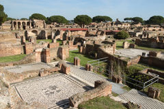 Ruinen der Ostia anticas Lizenzfreie Stockbilder