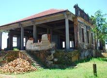 Ruinen der Portanlage in Brazil_02 stockbilder