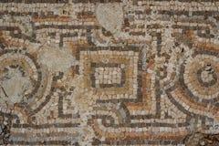 Ruinen der römischen Stadt im Reifen stockfotografie