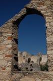 Ruinen der Siver Gruben in Mexiko lizenzfreie stockfotos