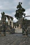 Ruinen der Stadt von Kursi, Golan Heights Lizenzfreies Stockbild