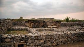 Ruinen der Stadt von Sirkap, Taxila, Pakistan lizenzfreies stockbild