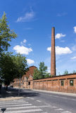 Ruinen der verlassenen Fabrik Lizenzfreie Stockfotografie