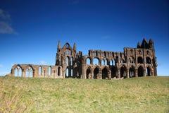 Ruinen der Whitby Abtei Stockfotografie