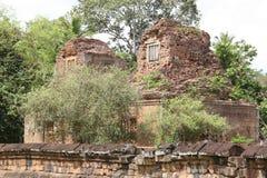 Ruinen des aincient Tempels Stockfotos