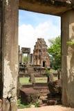 Ruinen des aincient Tempels Stockfoto