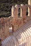Ruinen des alten Amphitheatre Stockfotografie