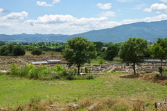 Ruinen des alten Filippi Lizenzfreie Stockbilder