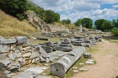 Ruinen des alten Filippi Lizenzfreie Stockfotos