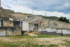 Ruinen des alten Filippi Lizenzfreies Stockbild