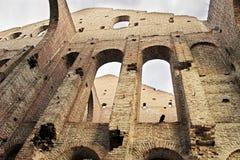 Ruinen des alten Gebäudes Lizenzfreies Stockbild