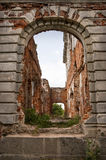 Ruinen des alten Landsitzes Lizenzfreie Stockfotografie