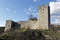 Ruinen des alten Schlosses Lizenzfreie Stockfotografie