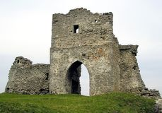 Ruinen des alten Schlosses Lizenzfreies Stockfoto