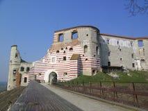 Ruinen des alten Schlosses Stockbild