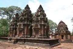 Ruinen des alten Tempels Lizenzfreie Stockbilder