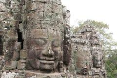 Ruinen des alten Tempels Stockfotos