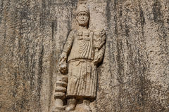 Ruinen des alten Tempels an Dorf Niha Bekaa Lizenzfreie Stockfotos