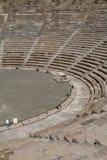 Ruinen des alten Theaters von Halicarnassus, jetzt Bodrum stockfotos