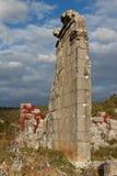 Ruinen des Altgriechischen und der römischen Stadt Adada Stockfotografie