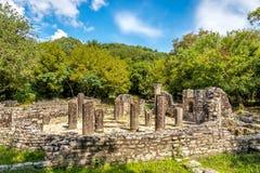 Ruinen des Baptistery Stockbild
