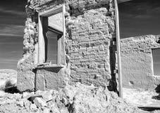 Ruinen des Forts Churchill, Nevada Lizenzfreies Stockfoto