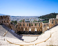 Ruinen des Griechenlands Lizenzfreies Stockfoto