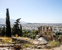 Ruinen des Griechenlands Lizenzfreies Stockbild