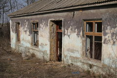 Ruinen des Hauses lizenzfreies stockfoto