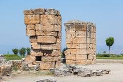 Ruinen des Hierapolis Stockbild