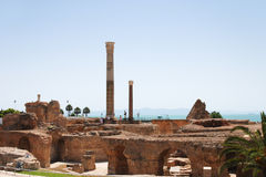 Ruinen des Karthagos Stockfotografie